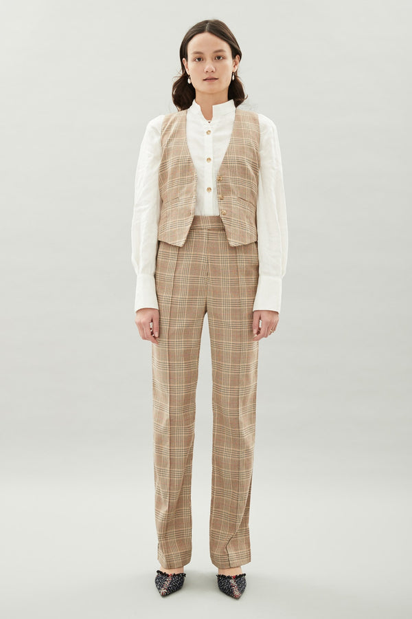 Michelle Pant Check-Pants-Hansen and Gretel-UPTOWN LOCAL