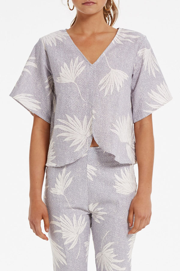 Shelter Top Print-Tops-Zulu and Zephyr-UPTOWN LOCAL