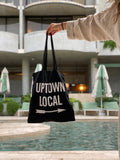 UPTOWN LOCAL Tote Bag-Bags-UPTOWN LOCAL-UPTOWN LOCAL