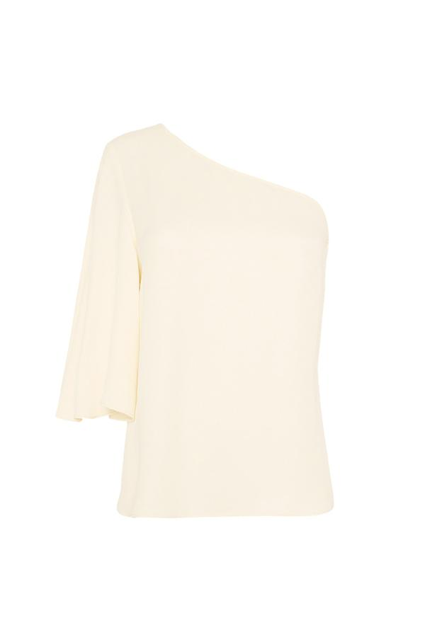 Lautner One Shoulder Blouse Cream-Tops-Shona Joy-6-UPTOWN LOCAL