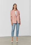 Manuscipt Blazer - Sabac Stripe-Jackets-Viktoria and Woods-0-UPTOWN LOCAL