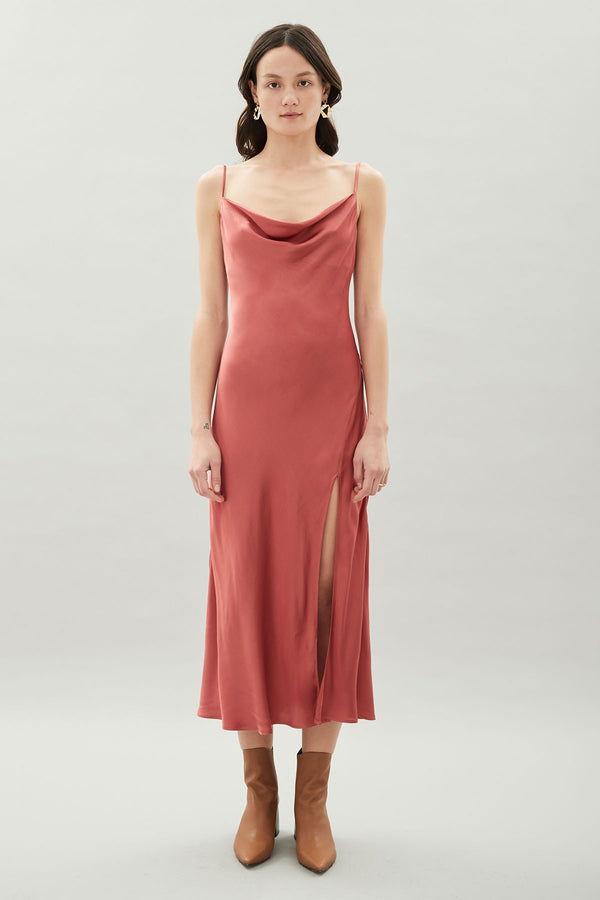 Maple Dress Russet-Dresses-Hansen and Gretel-UPTOWN LOCAL