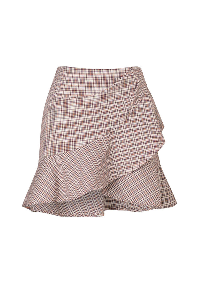 Hartford Flip Skirt Huntress Plaid