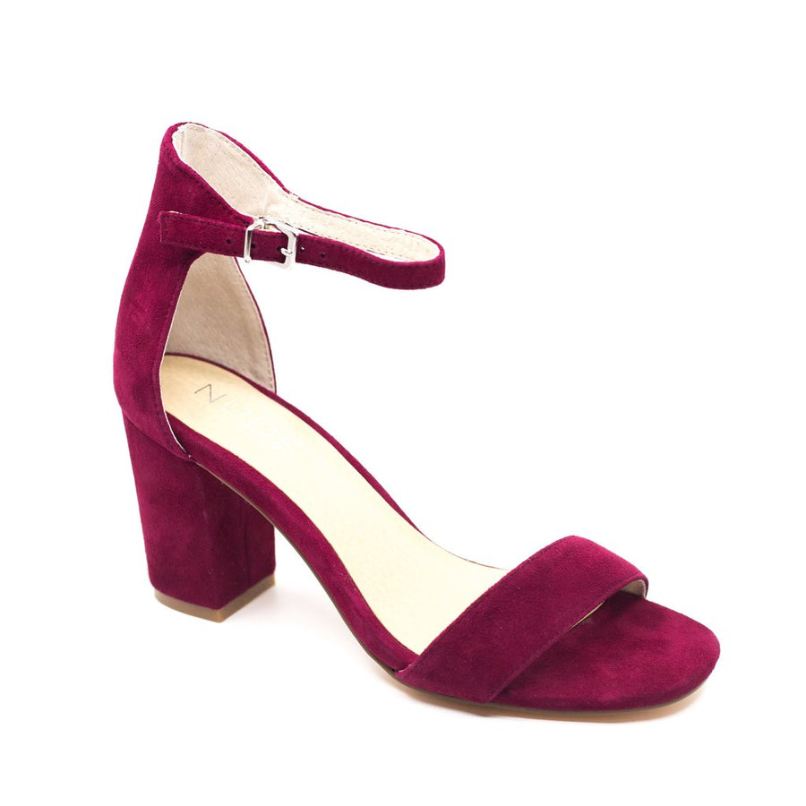 Silence Burgundy Suede-Shoes-Nude Footwear-36-UPTOWN LOCAL