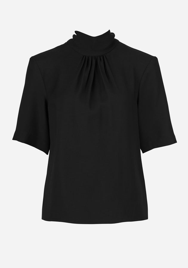 Providore Tie Top Black-Tops-Viktoria and Woods-UPTOWN LOCAL
