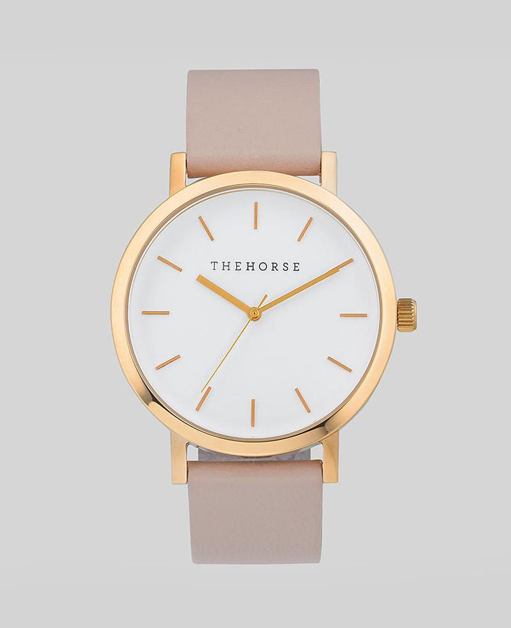 The Original - Polished Rose Gold / Blush Leather-Watch-The Horse-UPTOWN LOCAL