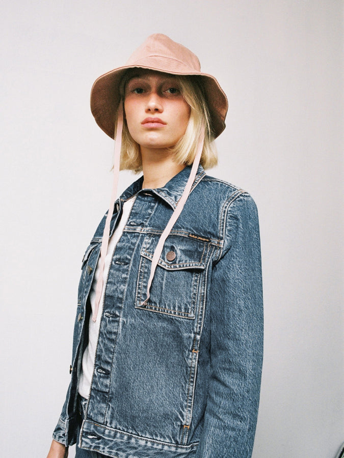 *COMING SOON* Bettina Denim Jacket - Pure Blue Denim-Jackets-Nudie Jeans-XS-UPTOWN LOCAL