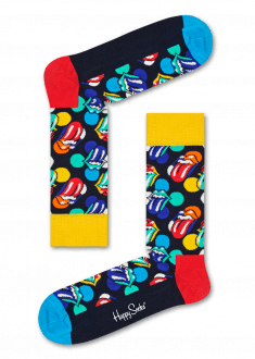 ROLLING STONE x HAPPY SOCKS - Big Licks-Socks-Happy Socks-UPTOWN LOCAL
