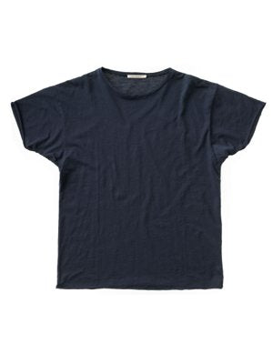 Roger Slub Navy-T-Shirts-Nudie Jeans-UPTOWN LOCAL