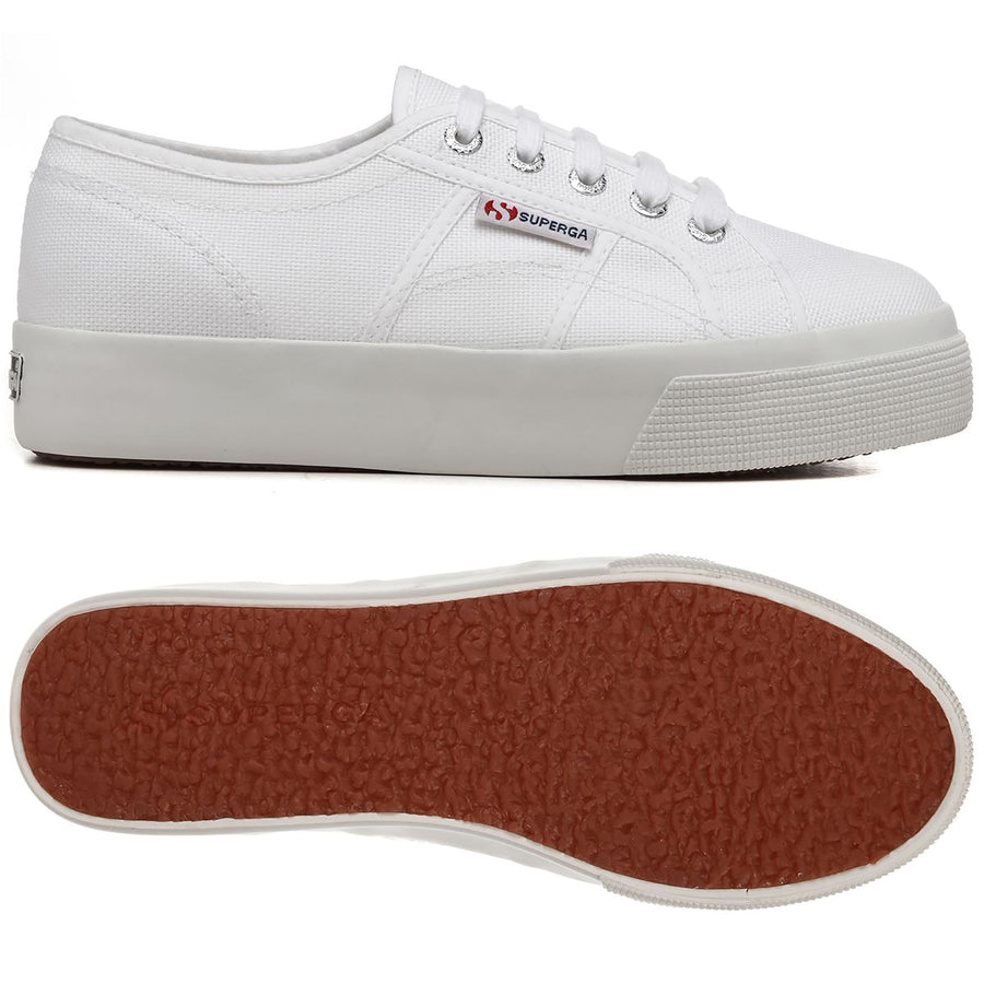2730 COTU - White Canvas-Shoes-Superga-36-UPTOWN LOCAL