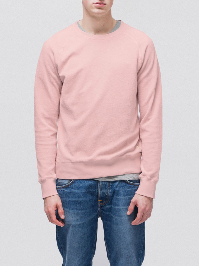Samuel Terry Sweatshirt Sakura-Jumpers-Nudie Jeans-UPTOWN LOCAL