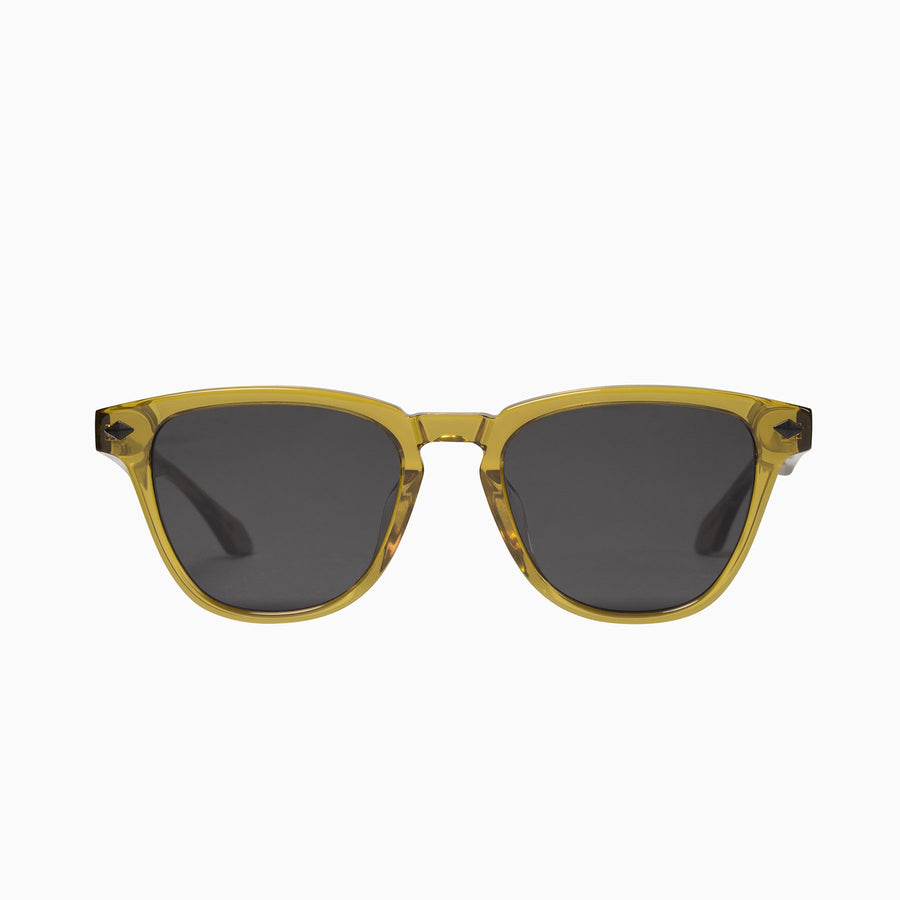 Tempest - Olive Green w. Matte Black Metal Trim / Black Lens-Sunglasses-Valley-UPTOWN LOCAL