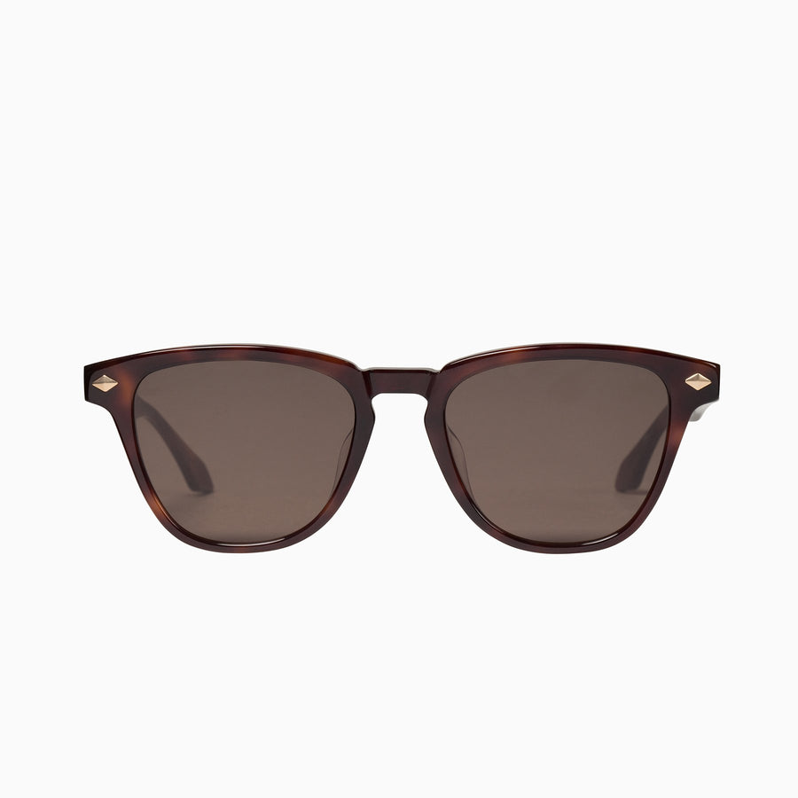 Tempest - Tort w. Matt Gold Metal Trim / Brown Lens-Sunglasses-Valley-UPTOWN LOCAL