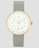 The Minimal - 40mm Polished Rose Gold / Grey-Watch-The Horse-UPTOWN LOCAL