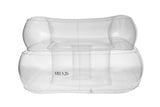 Gstaad Sofa Clear-Pool Flotation-Villa 26-UPTOWN LOCAL