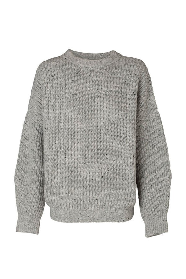 Eleonore Knit Lt. Grey Marle