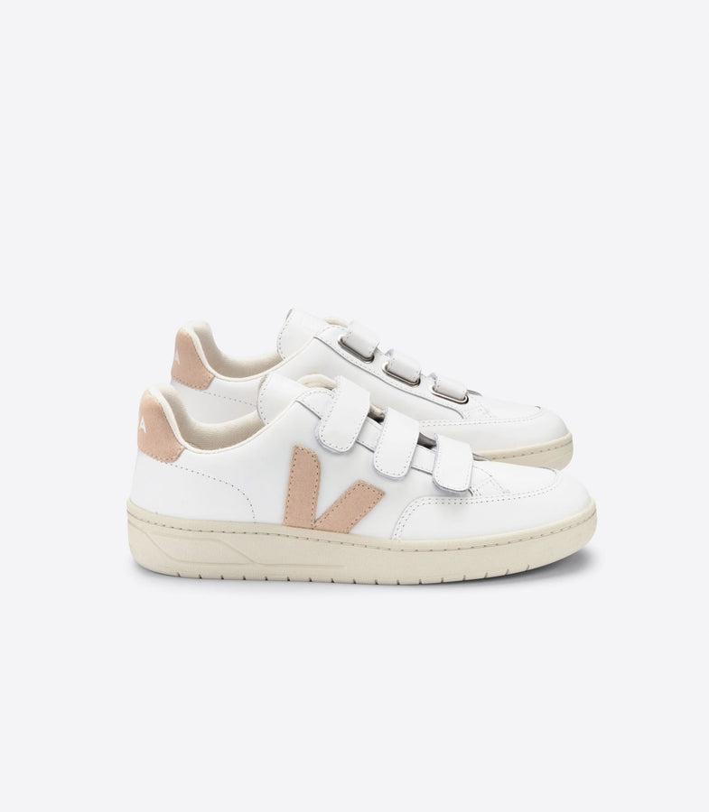 V-LOCK Leather - Extra White / Sable-Shoes-Veja-36-UPTOWN LOCAL