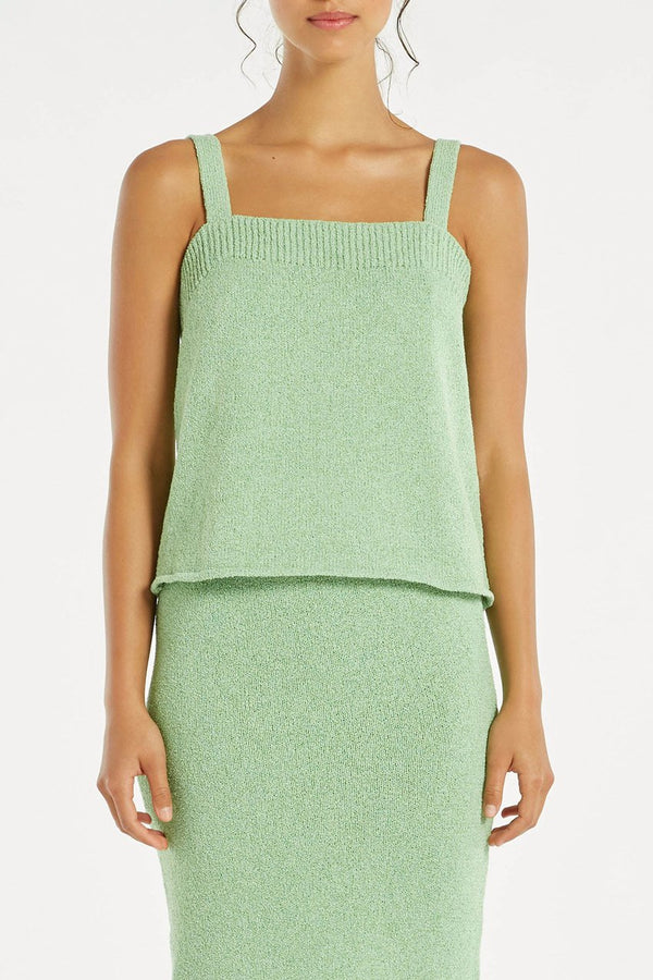 Breeze Knit Cami - Marine-Tops-Zulu and Zephyr-6-UPTOWN LOCAL
