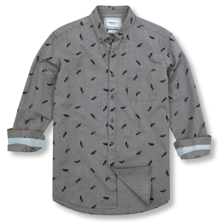 BF047 Grey-Shirts-Brooksfield-UPTOWN LOCAL