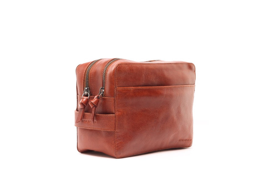 Gemin Toilet Bag Mini Cognac