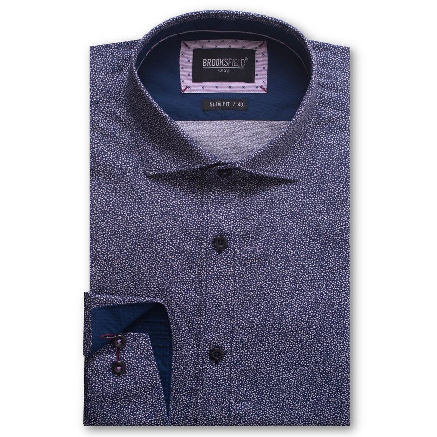 BFC1490 Navy-Shirts-Brooksfield-UPTOWN LOCAL