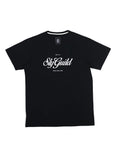 Crest Printed Tee Black-T-Shirts-Sly Guild-UPTOWN LOCAL