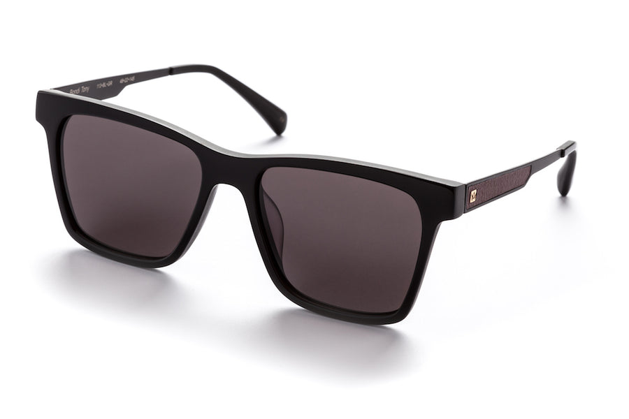 Bondi Tony-Sunglasses-AM Eyewear-Black / Grey-UPTOWN LOCAL
