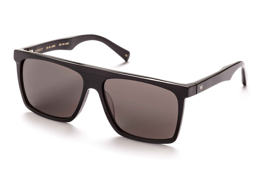 Cobsey Black-Sunglasses-AM Eyewear-UPTOWN LOCAL