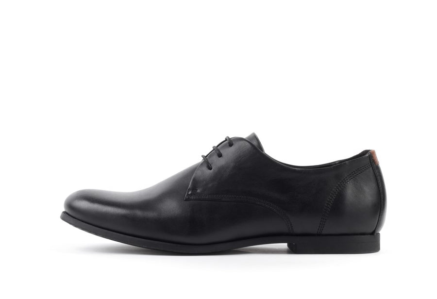 Cast Base Derby Shoe Black-Shoes-Royal Republiq-UPTOWN LOCAL