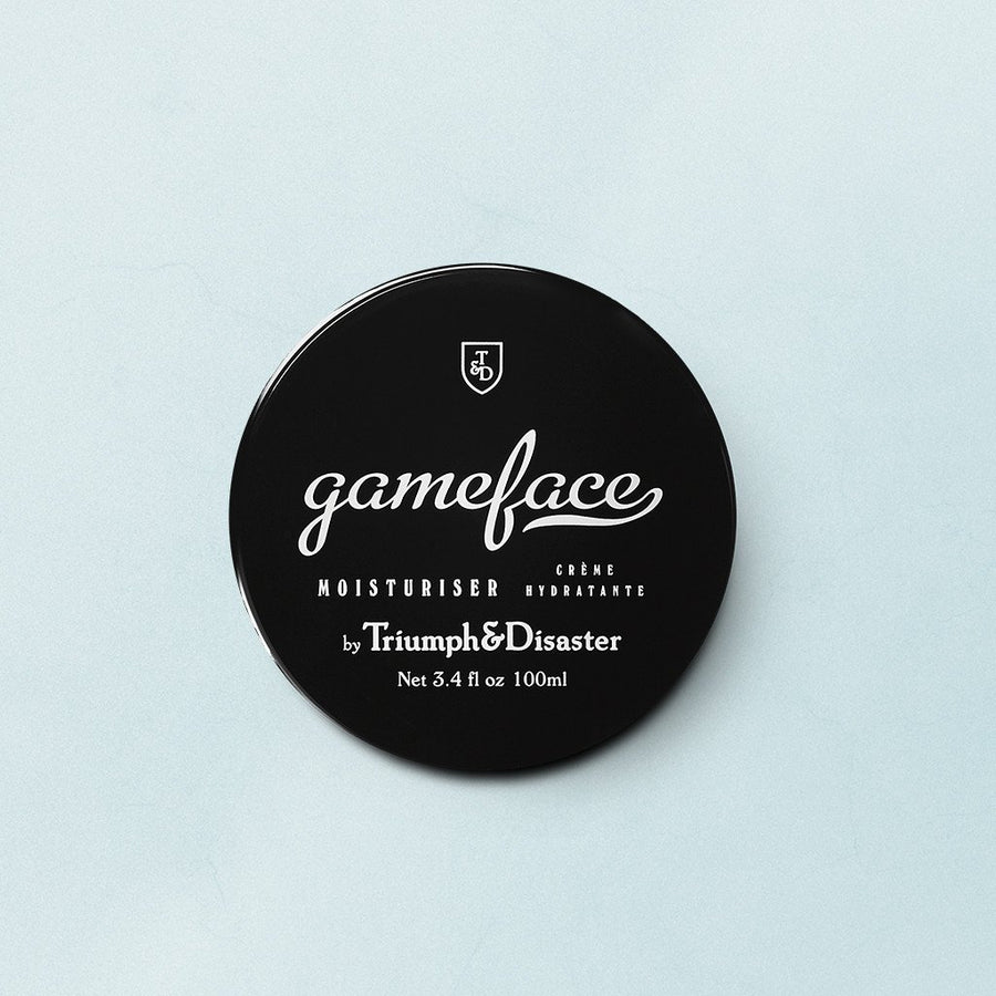Game Face Moisturiser Jar