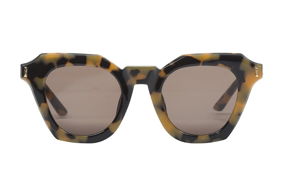 Gravestone Yellow Tort w Gold Metal Trim/ Brown Lens-Sunglasses-Valley-UPTOWN LOCAL
