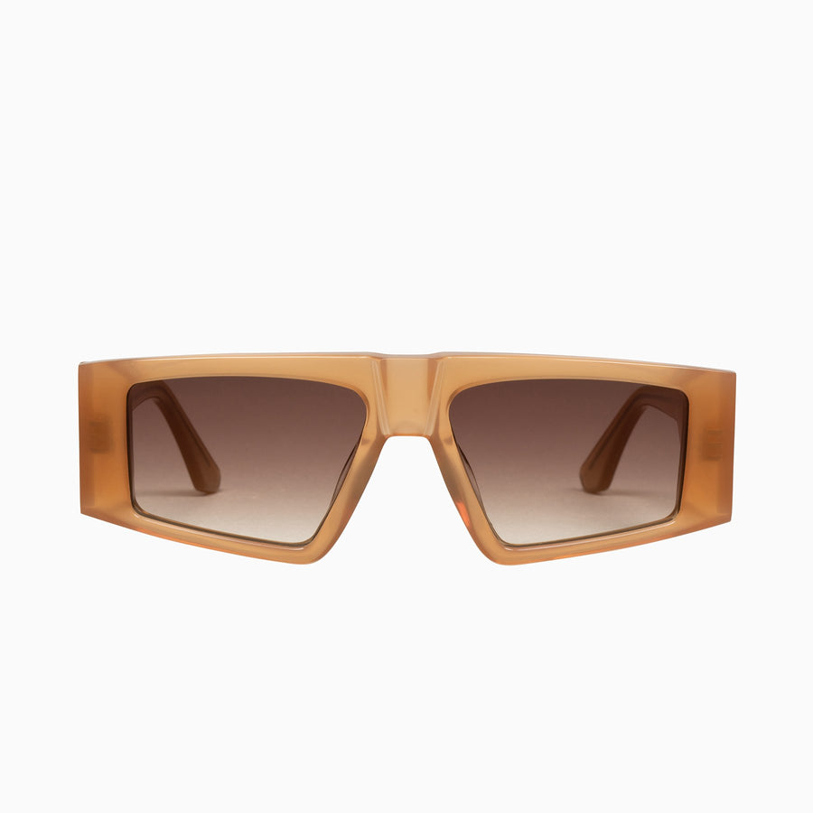 Untitled - Peach / Brown Gradient Lens-Sunglasses-Valley-UPTOWN LOCAL