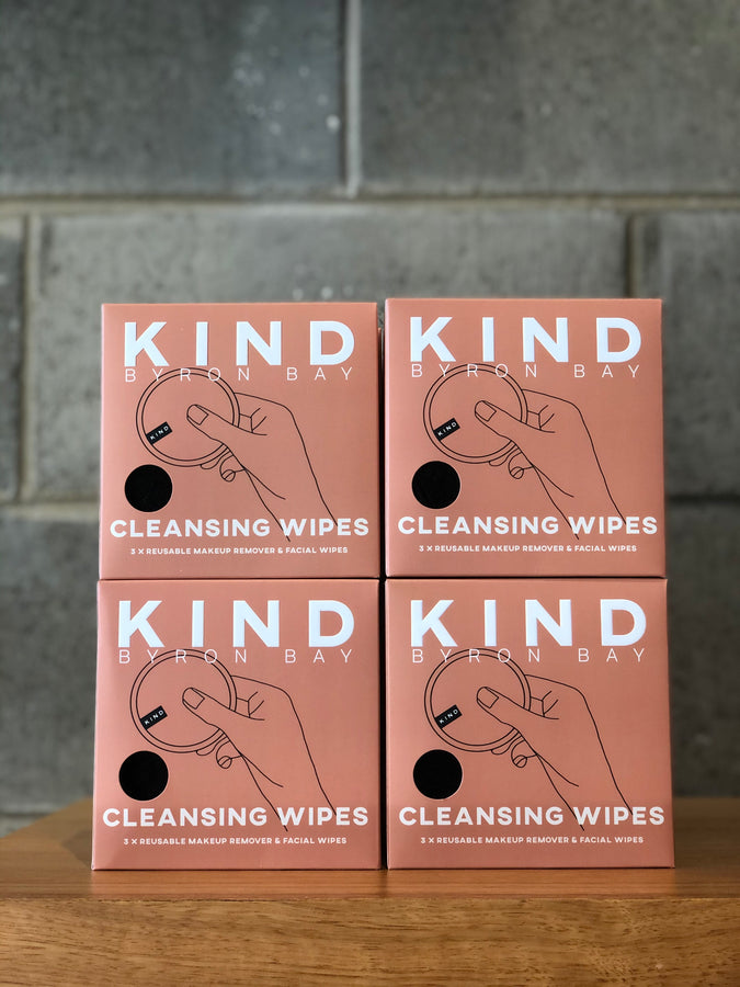 Reusable Cleansing Wipes x 3-Apothecary-KIND Byron Bay-UPTOWN LOCAL