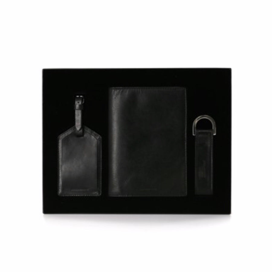 Giftbox : The Traveller Black-Wallet-Royal Republiq-UPTOWN LOCAL