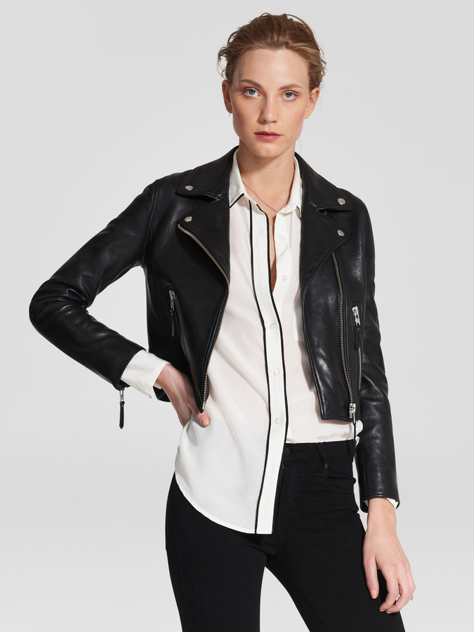 Classic Leather Jacket