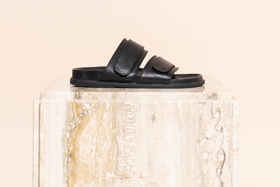 Izano Slide - Black-Shoes-James Smith-37-UPTOWN LOCAL