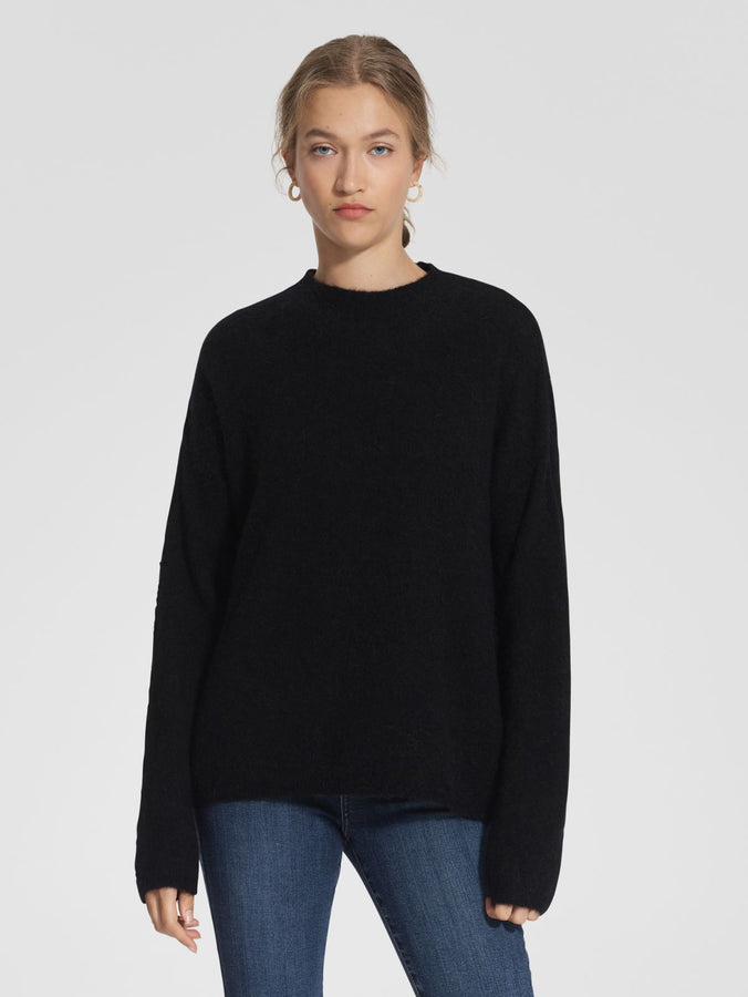 Cherished Knit Black-Knitwear-Nobody Denim-UPTOWN LOCAL