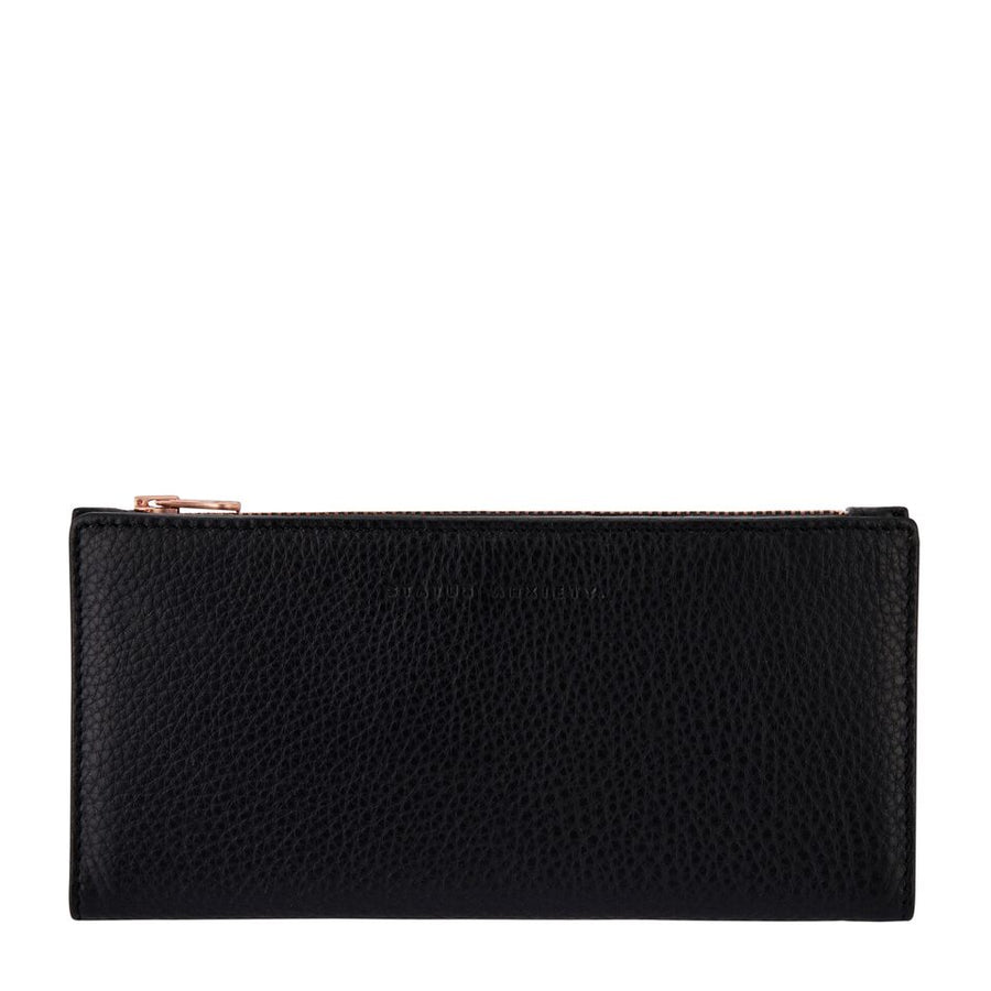 In the Beginning Wallet-Wallet-Status Anxiety-Black-UPTOWN LOCAL