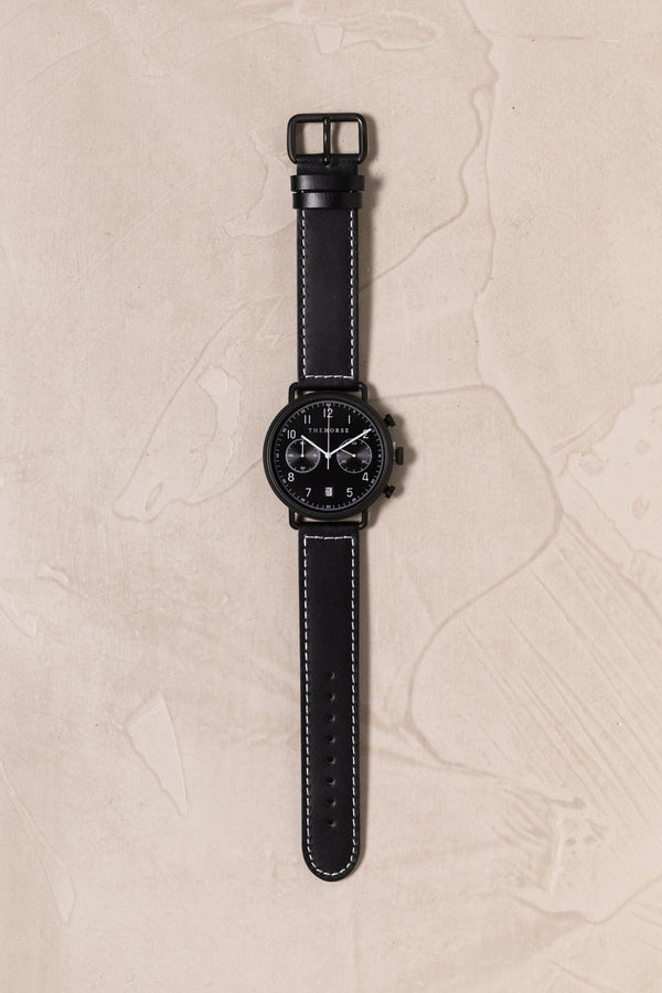 The Chronograph Black