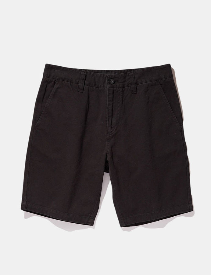 Chino Short - Black-Shorts-Mr. Simple-30-UPTOWN LOCAL