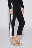 Azra Panelled Pant Black