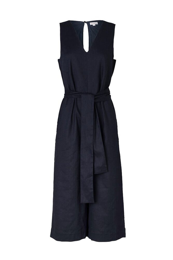 Delilah Jumpsuit Navy-Jumpsuits-Elka Collective-UPTOWN LOCAL