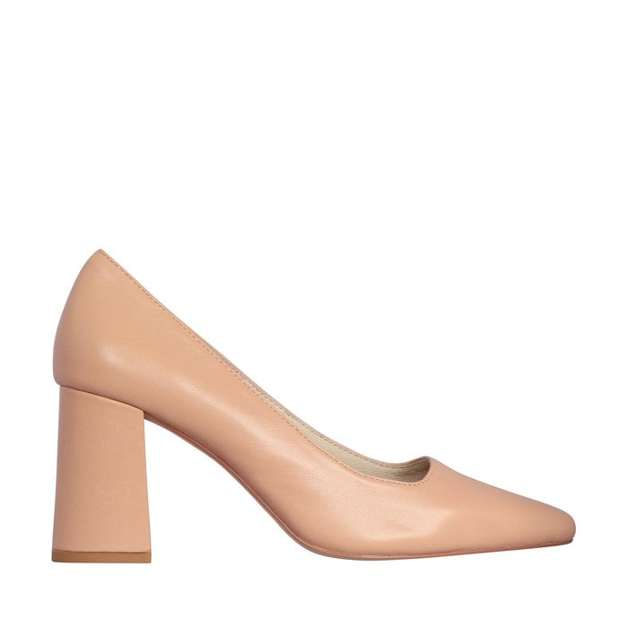 Reese Heel Nude Leather-Shoes-Nude Footwear-36-UPTOWN LOCAL