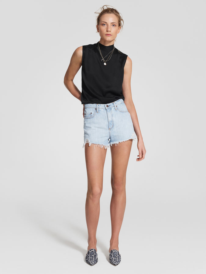 Skyline Short Raw Flirting-Shorts-Nobody Denim-UPTOWN LOCAL