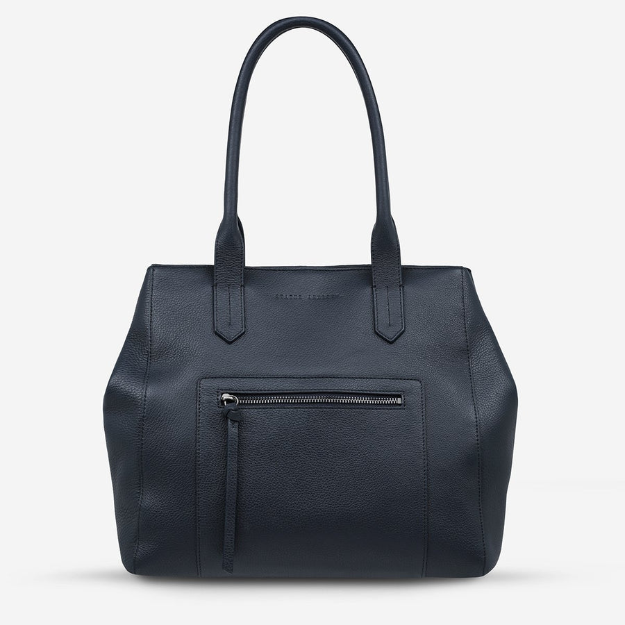 Abandon Tote Navy-Bags-Status Anxiety-UPTOWN LOCAL