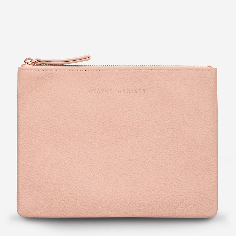 Fake It Clutch-Wallet-Status Anxiety-Dusty Pink-UPTOWN LOCAL