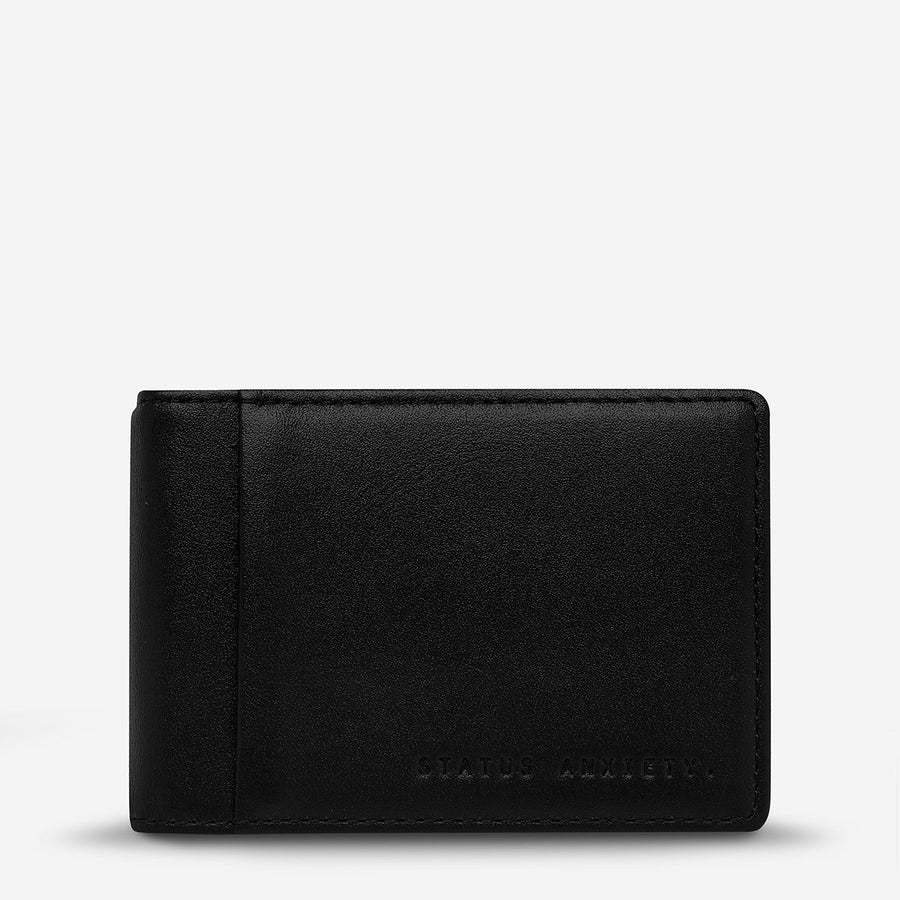 Melvin Wallet - Featuring Money Clip & Outside ID slot!-Wallet-Status Anxiety-Black-UPTOWN LOCAL