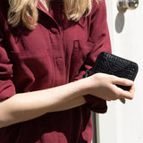 Wayward Wallet-Wallet-Status Anxiety-Black Croc-UPTOWN LOCAL