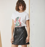 Sculls & Roses Graphic Tee - White-T-Shirts-ENA PELLY-6-UPTOWN LOCAL