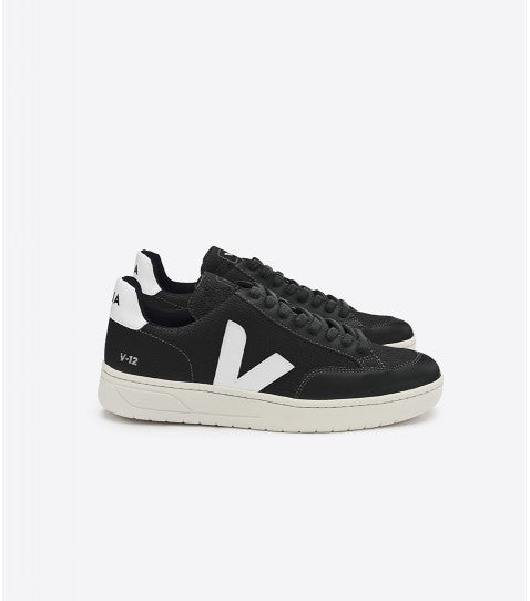 V12 BMESH BLACK WHITE-Shoes-Veja-UPTOWN LOCAL